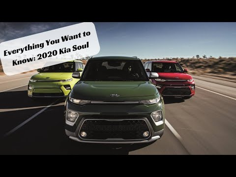 Everything You Want to Know: 2020 Kia Soul
