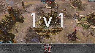 Dawn of War 2: Retribution - 1v1   LArks - Lord Commissar [vs] cudder - Kommando Nob