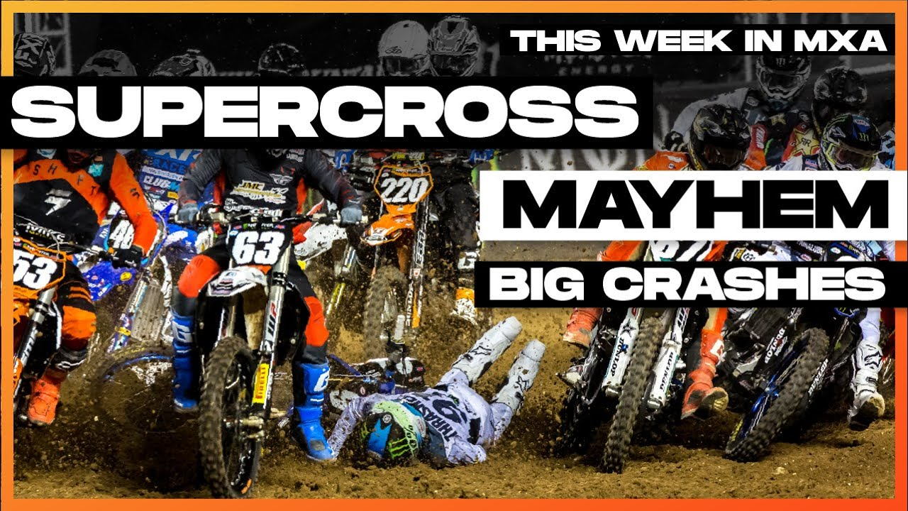 Supercross Crash Mayhem in Orlando! - This Week in MXA Episode 9