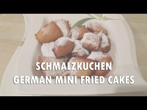 Schmalzkuchen German Mini Fried Cakes Recipe in English