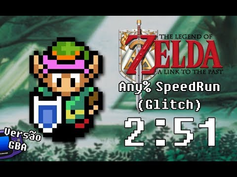 The Legend of Zelda: A Link to the Past (GBA) - Any% (Exploration