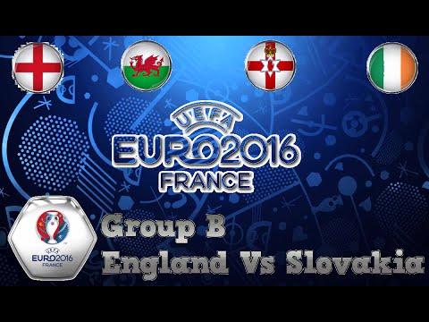 PES 2016 / HOME NATIONS EURO WALKTHROUGH / SLOVAKIA VS ENGLAND