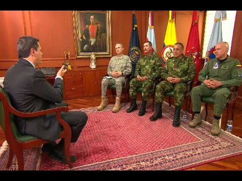 Entrevista exclusiva con la nueva cúpula de las Fuerzas Militares | Noticias Caracol