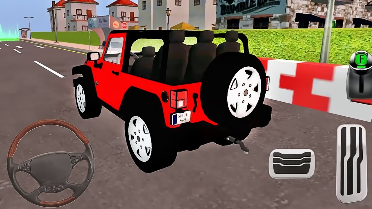 My Holiday Car Green Sport Car Red Jeep Driving Android Gameplay 3 Youtube