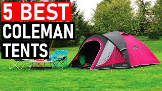 👉 5 Best Colęman Tents for Camping 2021 - Best Outdoor Camping Tents