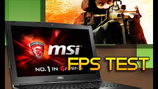 msi gl62 6qd   fps test on csgo and minecraft