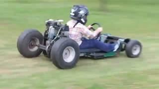 J ' améliore mon Kart avec deux moteurs de tronçonneuse !