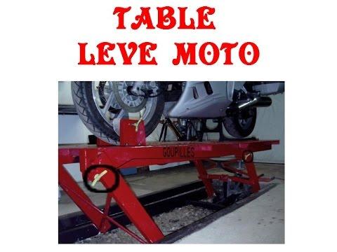 table leve moto - youtube