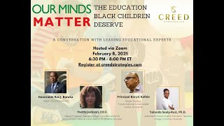 Our Minds Matter: The Education Black Children Deserve