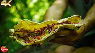 WORLD'S BIGGEST TACO - PRIMITIVE COOKING FOODPORN thumbnail