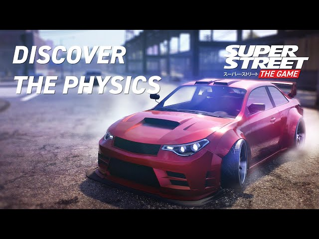 Super Street: The Game -  Physics Gameplay Video