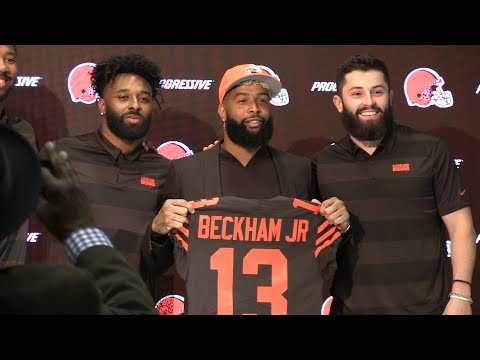 Allen Colon - Re-live it again, Browns officially welcome OBJ to Cleveland