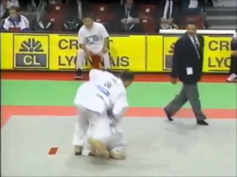 JUDO 1997 World Championships: Ki-Young Jeon 전기영 (KOR) - Keith Morgan (CAN)