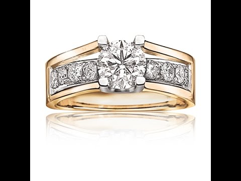 Canadian Ice Brilliant Cut Engagement Ring 1 5 8ct t w in 14K