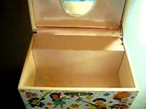 disneyland it 39 s a small world music jewelry box youtube