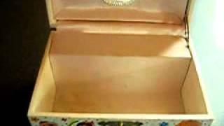Disneyland It's A Small World Music Jewelry Box