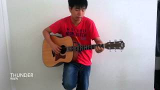 EDM/Clubbing/Raving Songs on Acoustic Guitar in 2 Minutes
