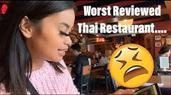 VLOG WITH GABS: Eating At The WORST Reviewed Thai Restaurant In SEATTLE