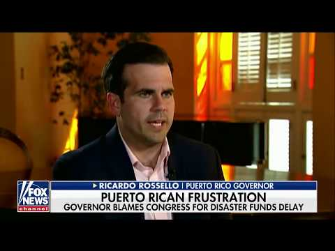 Puerto Rico Gov. Blames Congress For Hurricane Relief Delays