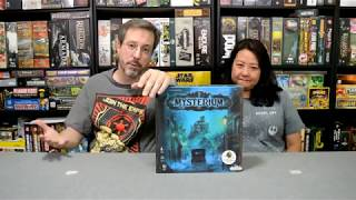Unboxing of Mysterium by Asmodee