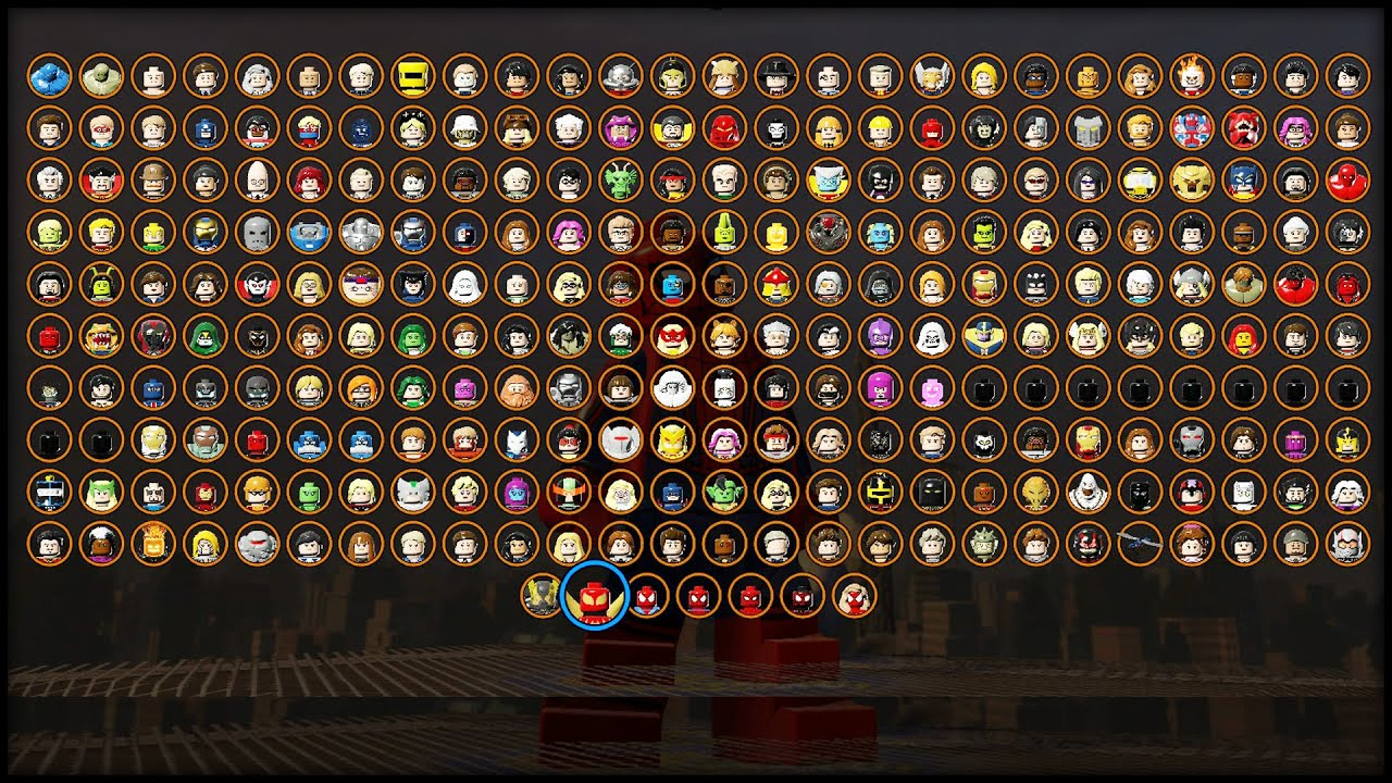 how to buy characters in lego marvel superheroes