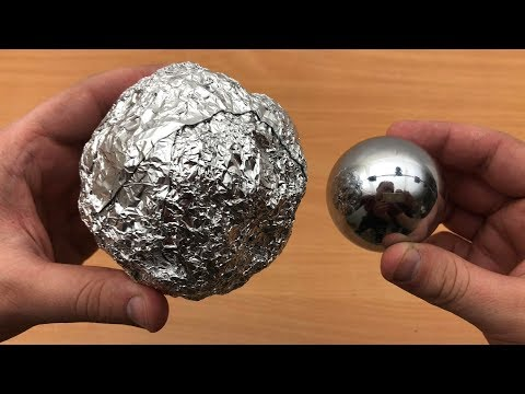 DIY Mirror Polished Japanese Aluminum Foil Ball