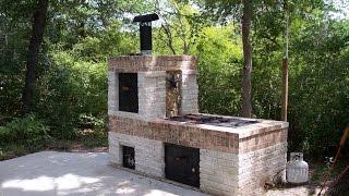 Building a Brick BBQ Smoker