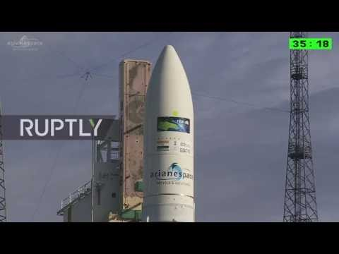 LIVE: Ariane rocket launches Sky Muster 2 and GSAT 18 communications satellites