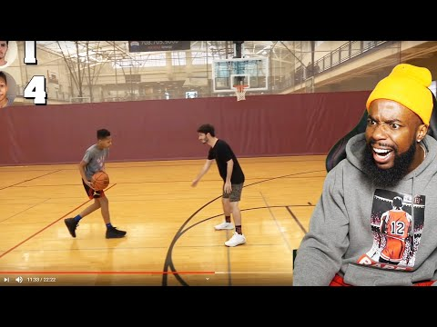 MOPI vs DonJ 13 YEAR OLD PRODIGY HOOPER?! 1vs1 Basketball