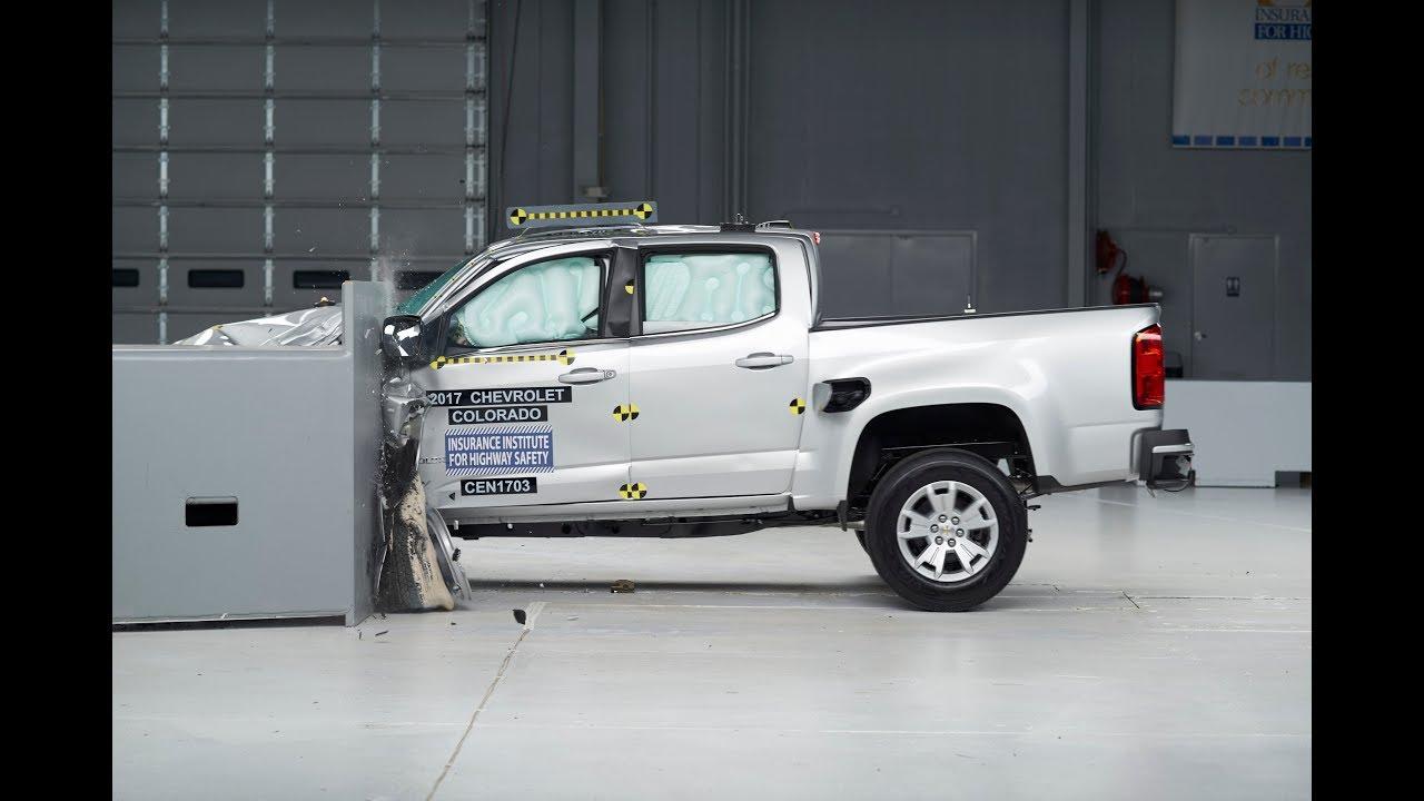 Iihs Selected Small Pickup Truck Crash Tests