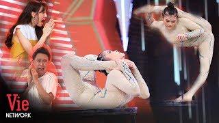 Anh Đức, HariWon kinh ngạc trước màn uốn dẻo đẳng cấp của cô gái vượt qua kỷ lục thế giới | Kỳ Tài