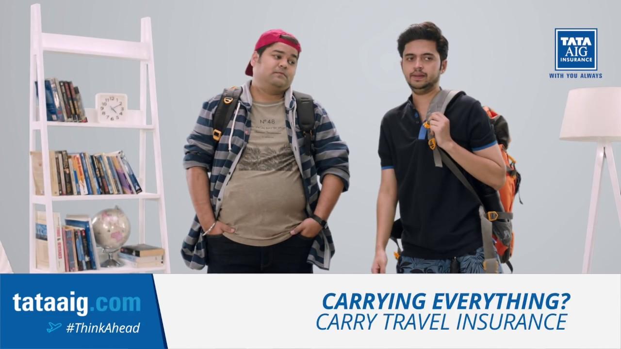 Tata AIG Travel Insurance - Packing #ThinkAhead