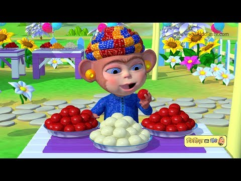 Bandar mama pahan pajama | hindi rhyme | 3d animated rhyme | nursery rhymes | kids | kiddiestv hindi