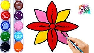 How to Draw a Flower Simple, Easy & Fun - Kids