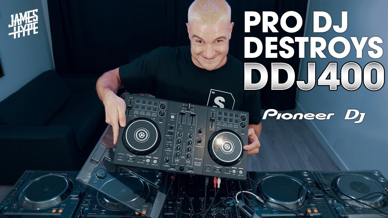Pro DJ Using Pioneer DDJ 400 Controller