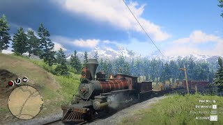Red Dead Redemption 2 - #15 To Valentine Country By Train
