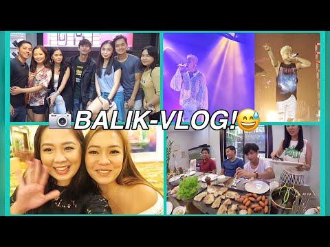 VLOG: Anna Cay's Bday🎉 + Taeyang Concert 🇰🇷+ #FoodisLifeSquad 🍴 | Raych Ramos✨