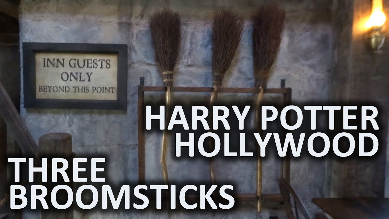 Three Broomsticks Restaurant At Universal Studios Hollywood S Wizarding World Of Harry Potter