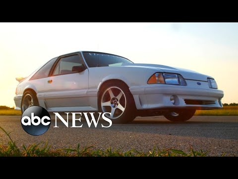 Family's beloved car gets Mustang makeover by Ford Motor Co.