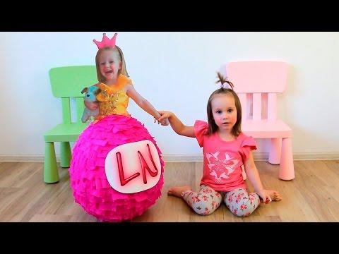 Лайк Настя в гостях у Юли Сюрпризы и игрушки от канала Like Nastya новое видео