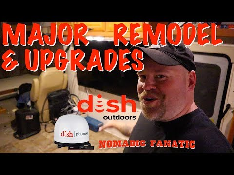 tear-it-all-out!-remodel-&-adding-satellite-tv-system!!!