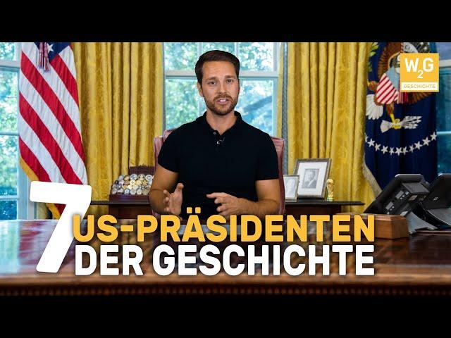 7 besondere US-Präsidenten der Geschichte