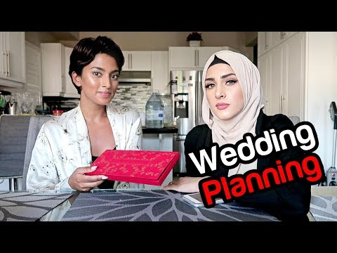 SHE IS PLANNING MY WEDDING