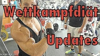 Training im David Gym mit Voice Over und Updates zur Wettkampfdiät