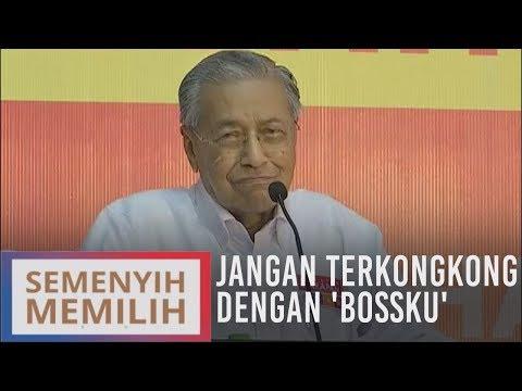 Jangan terkongkong dengan 'Bossku' - Tun Dr. Mahathir