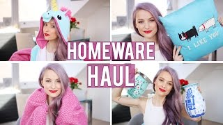New Flat Homeware Haul | Inthefrow