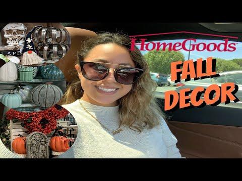 HomeGoods Fall Decor 2019 | Shop With Me