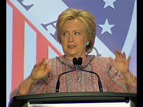 FULL Speech. Hillary Clinton Delivers Remarks at LULAC Unity Luncheon (7-14-16)