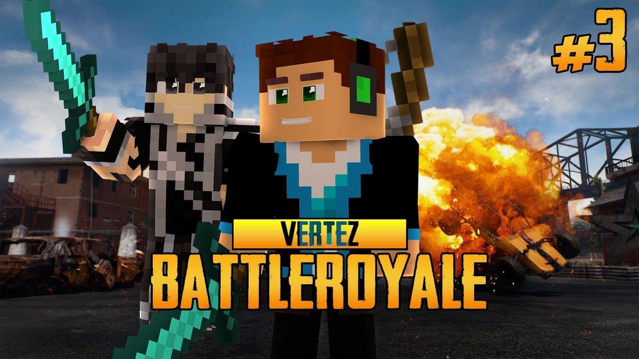 MINECRAFT BATTLE ROYALE #3 – TEAM Z HUNTEREM!