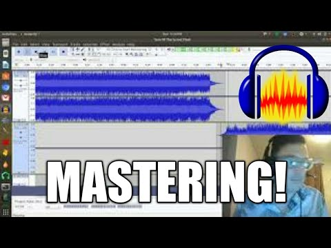 How To Master Music In Audacity 2018 LIVE!